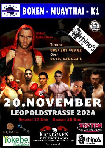 Kickboxen 20. November München