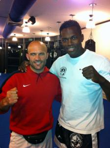 ... oder dem Kickbox-Profi Remy Bonjasky.