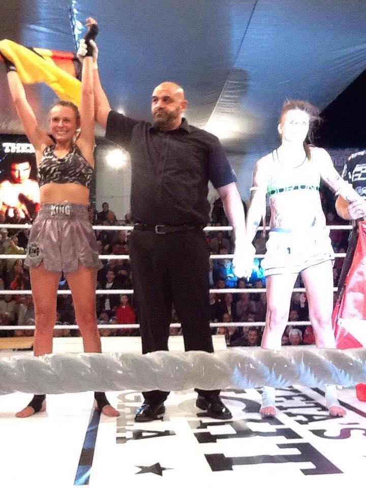 Mareike Michl verteidigt erfolgreich IKBF-Titel