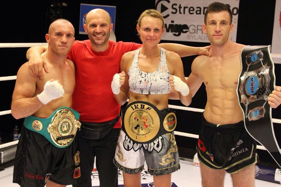 3 Champions für Kickboxen-Deutschland