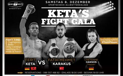 Revanche: Ferit Keta und Fatih Karakus kämpfen um zwei Weltmeister-Titel im Kickboxen am 8. Dezember in München