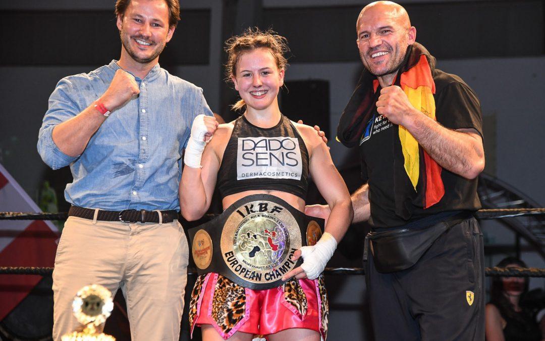 """PRESSEINFORMATION Neue Europameisterin Cheyenne """"Pepper"""" Hanson"""